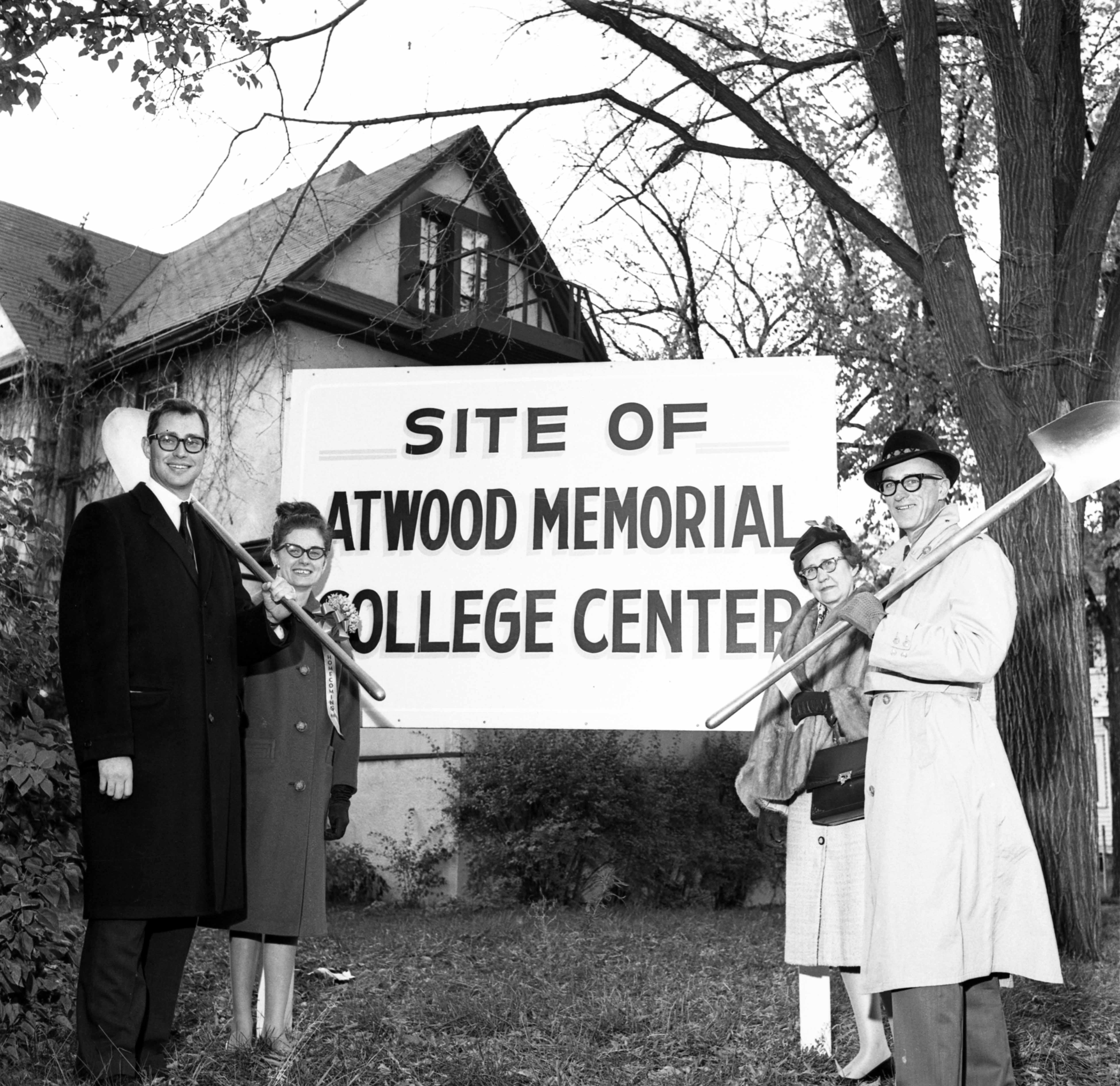 Atwood Memorial Center groundbreaking