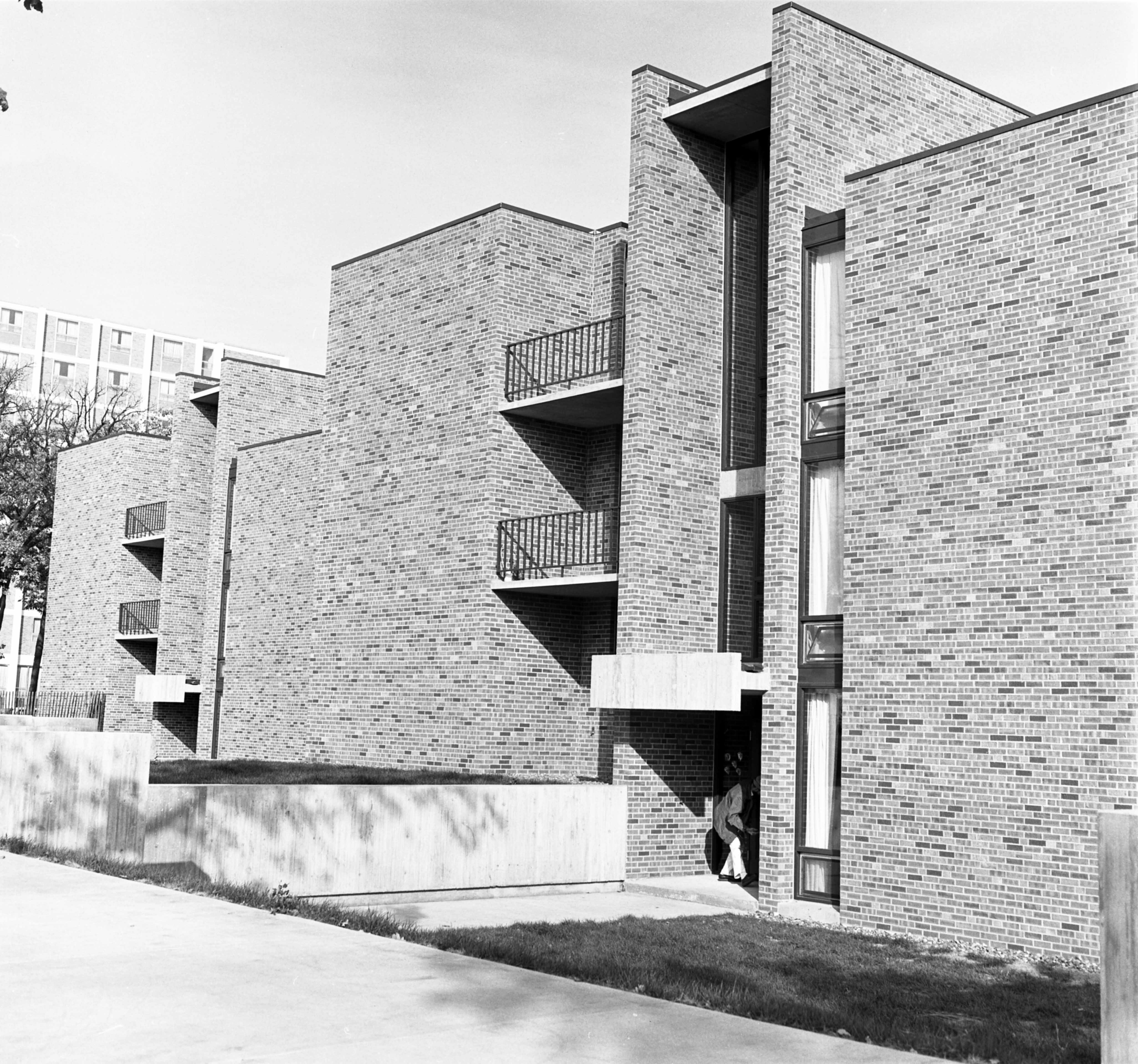 Benton Hall, 1967