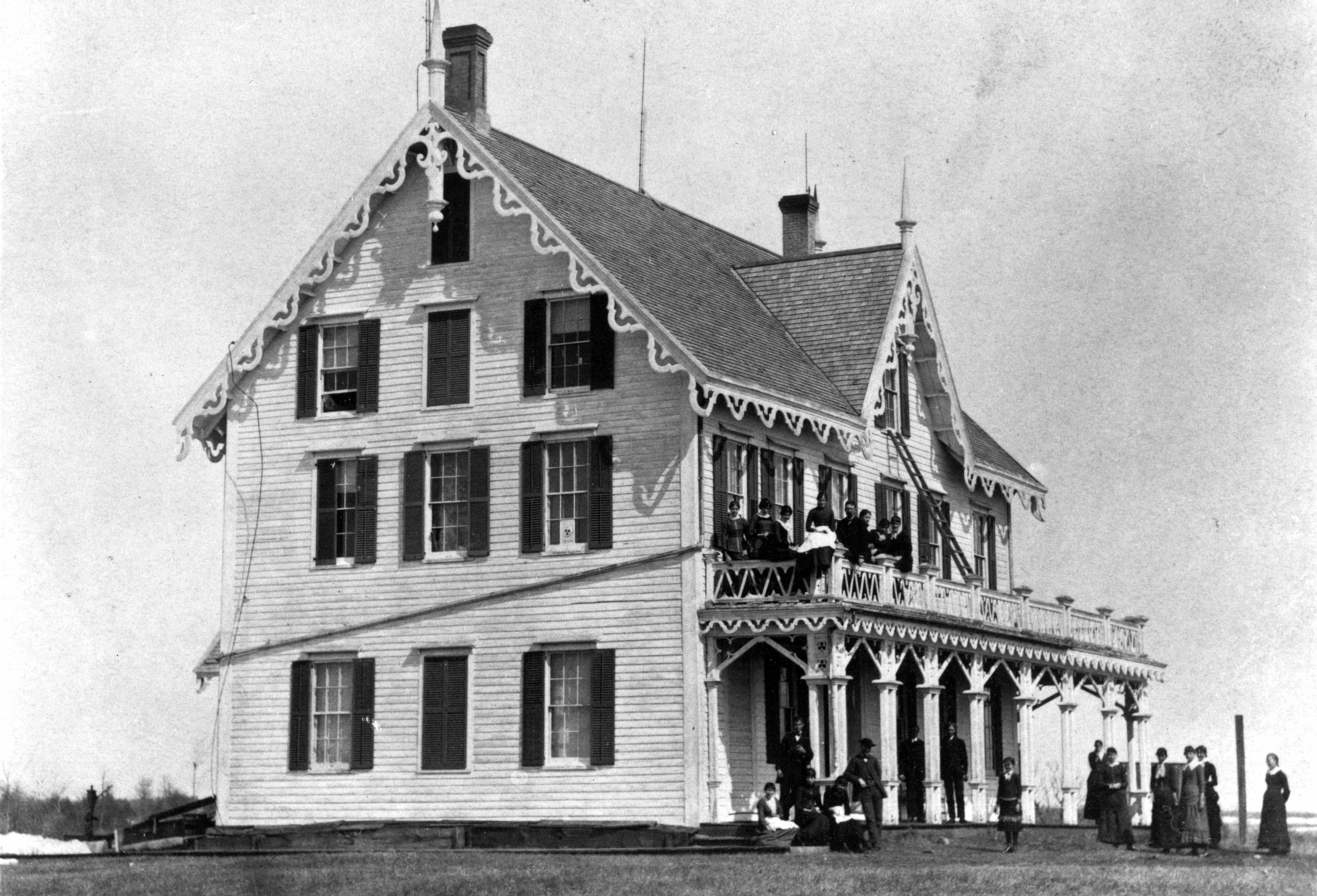 Stearns House, 1869-1874