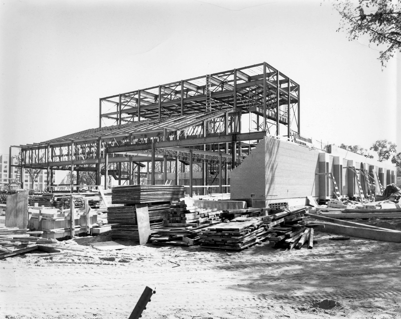 Performing Arts Center construction, ca. 1967