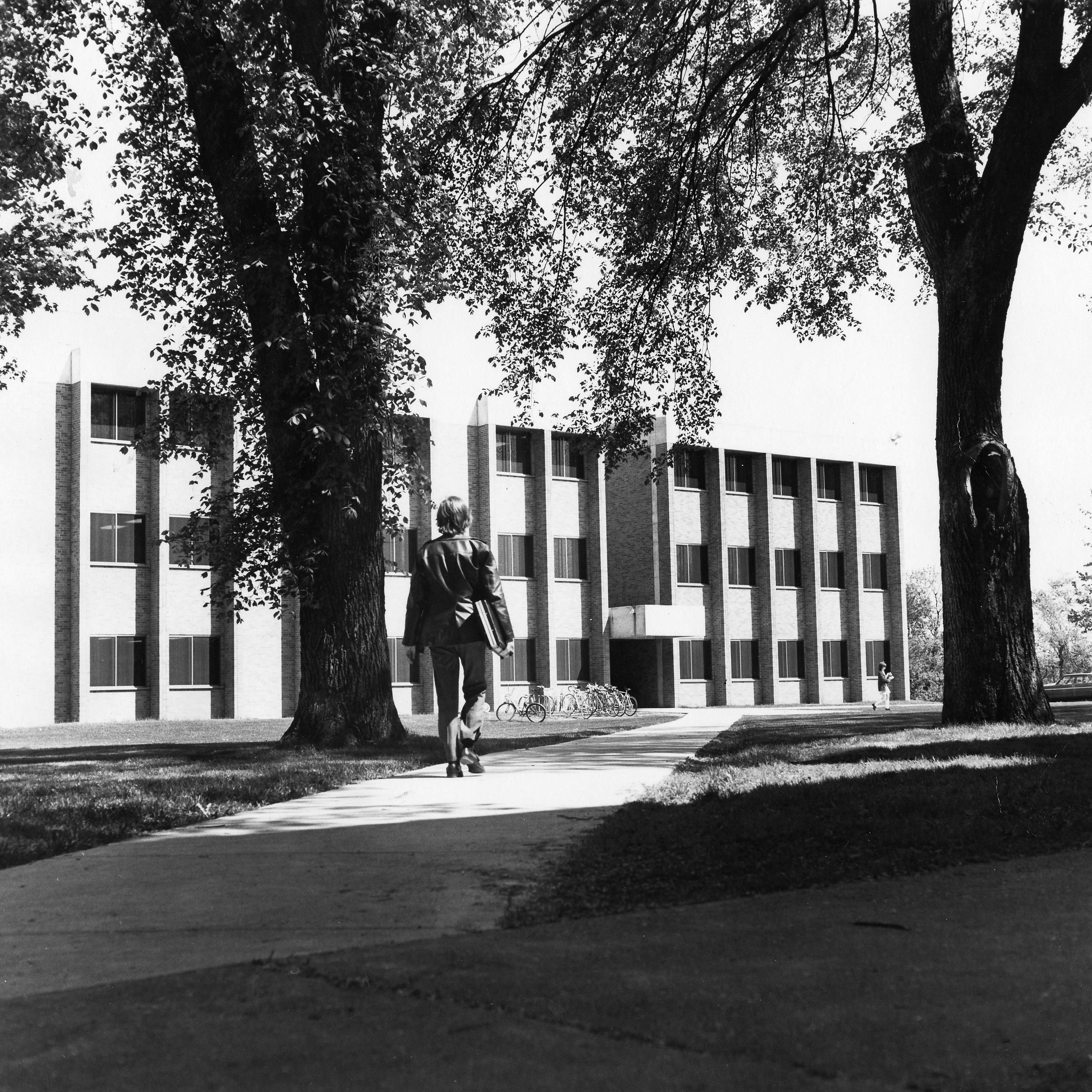 School of Business building, 1970s
