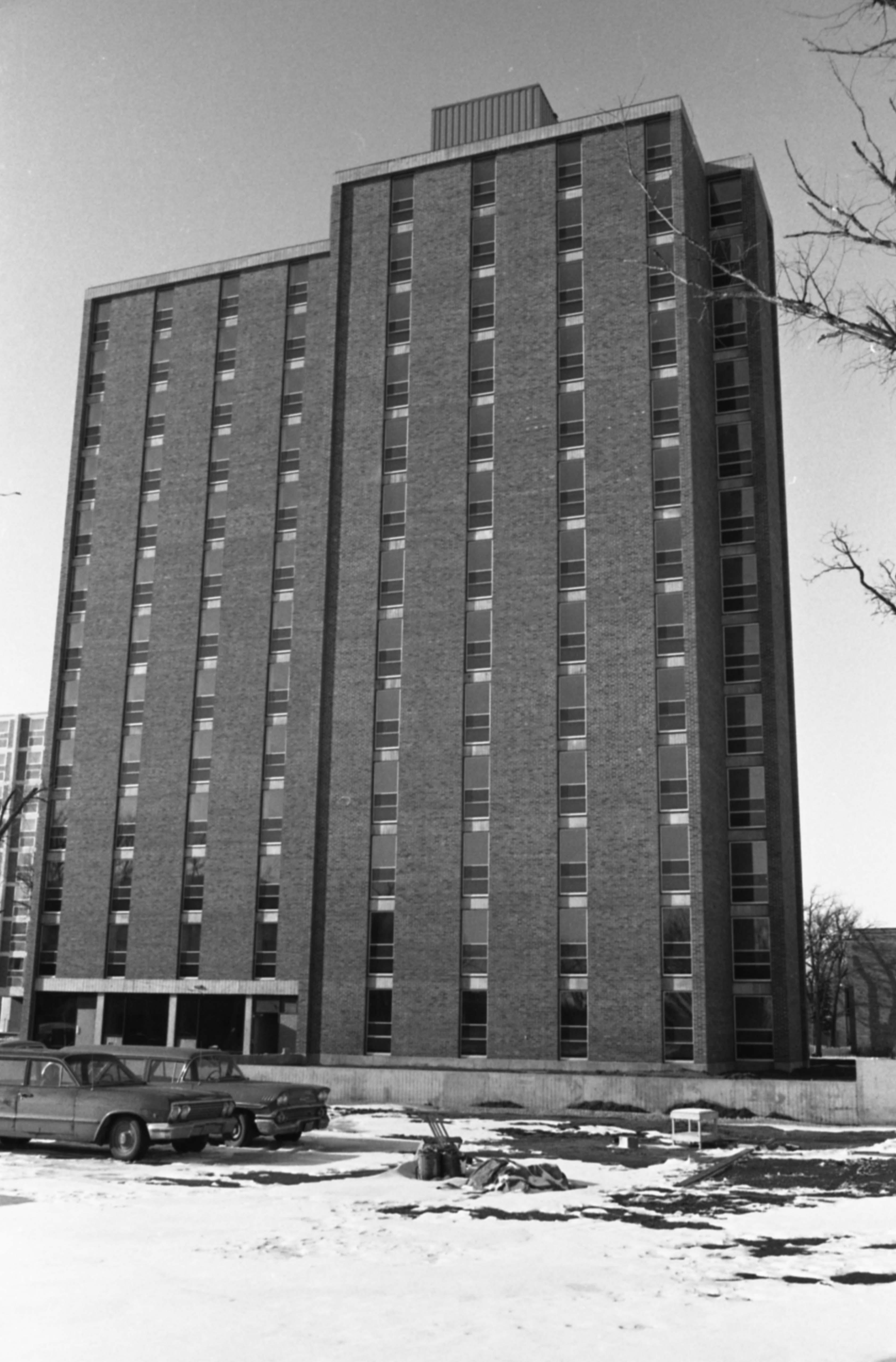 Sherburne Hall, March 1969