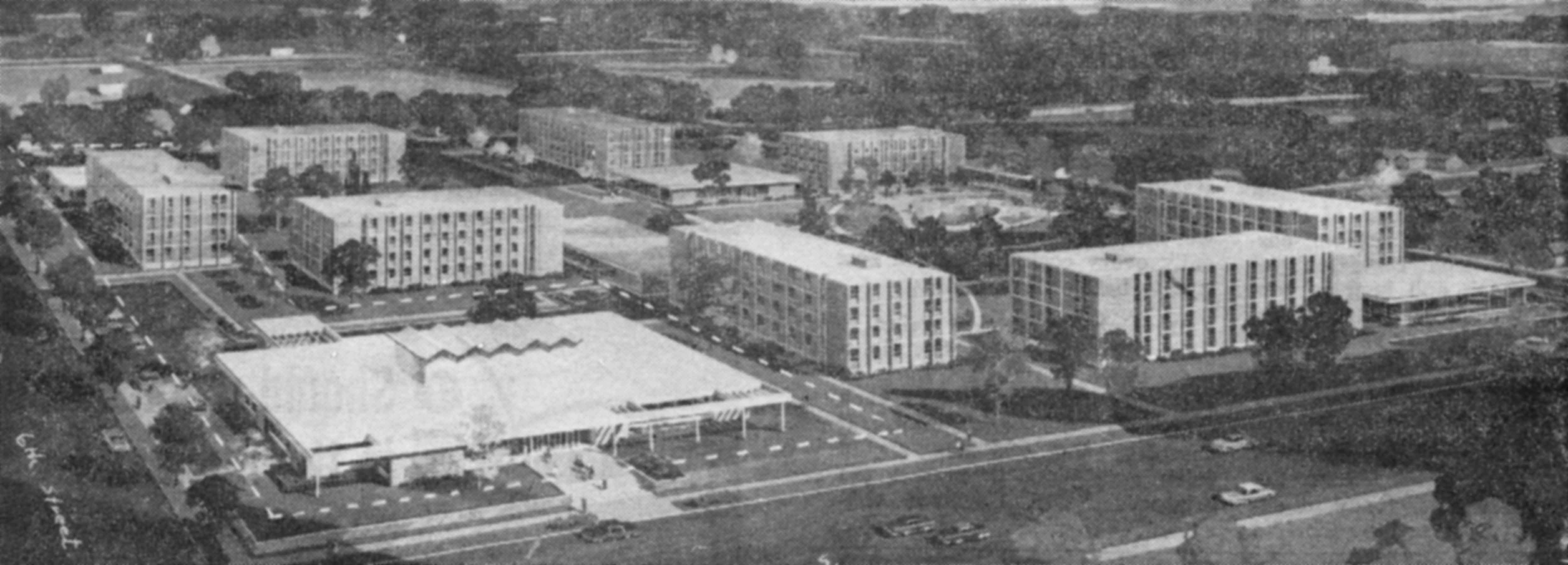 Proposed residence hall complex