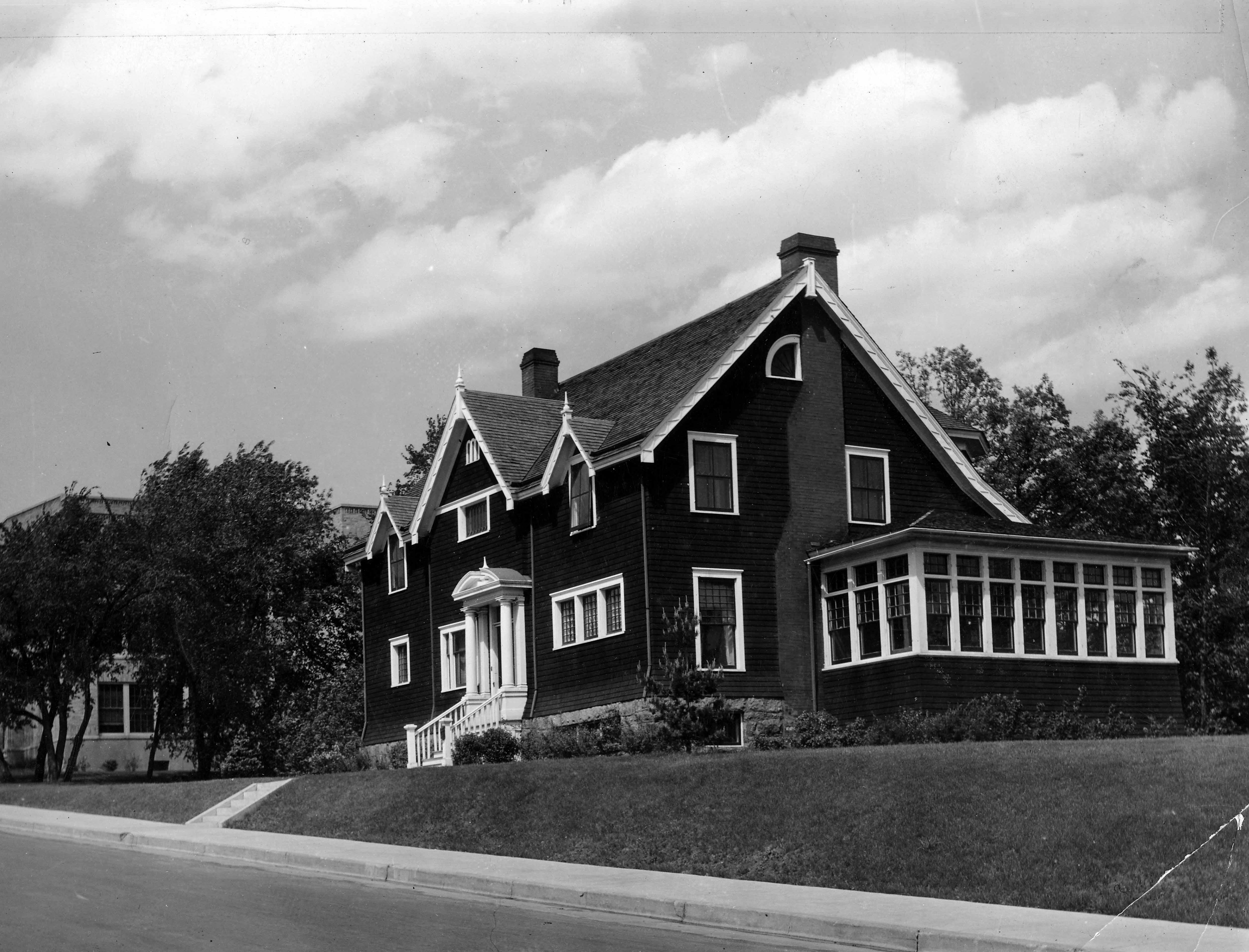 Music Studio with porch, 1967?