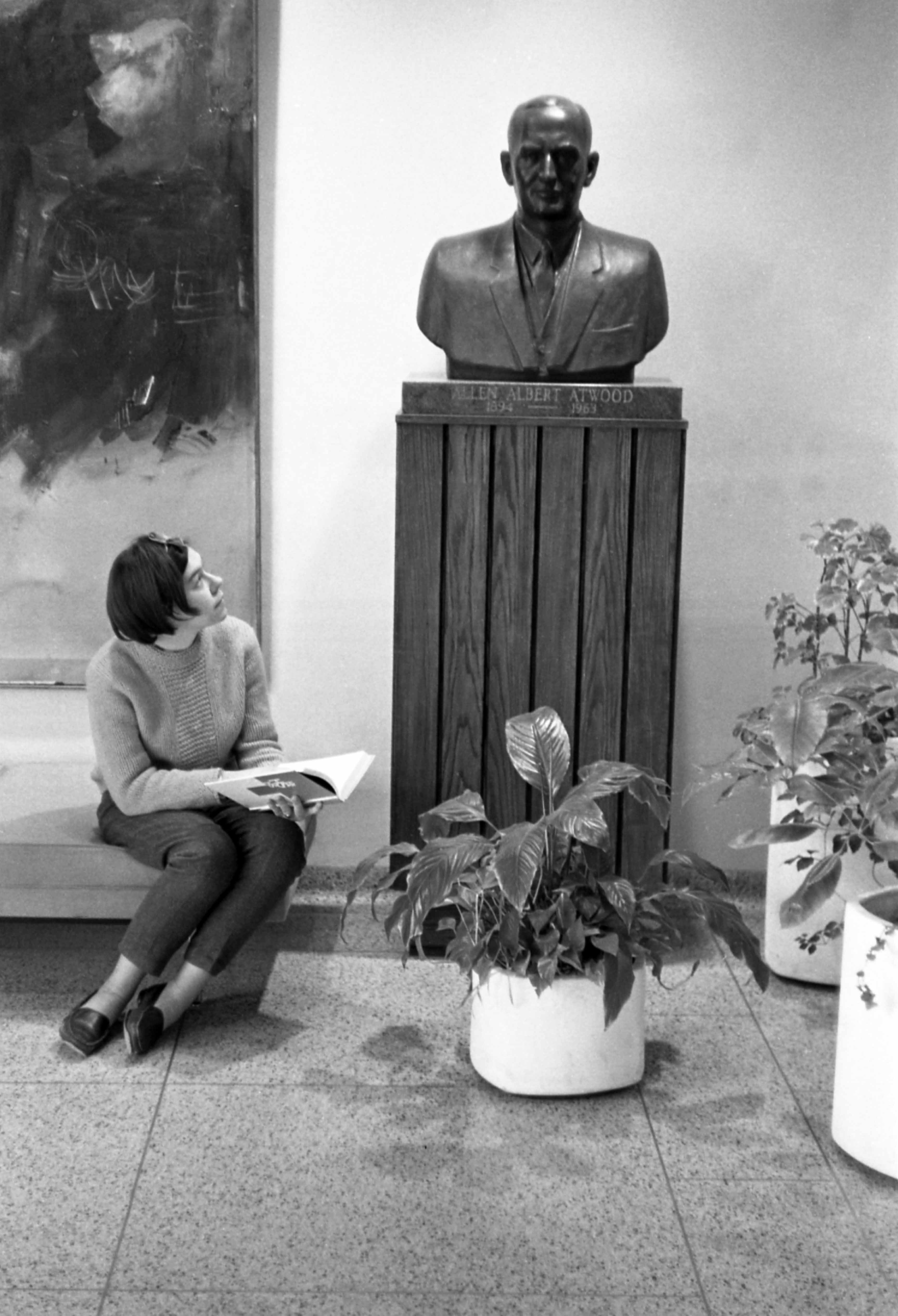 Allen Atwood bust, 1966?