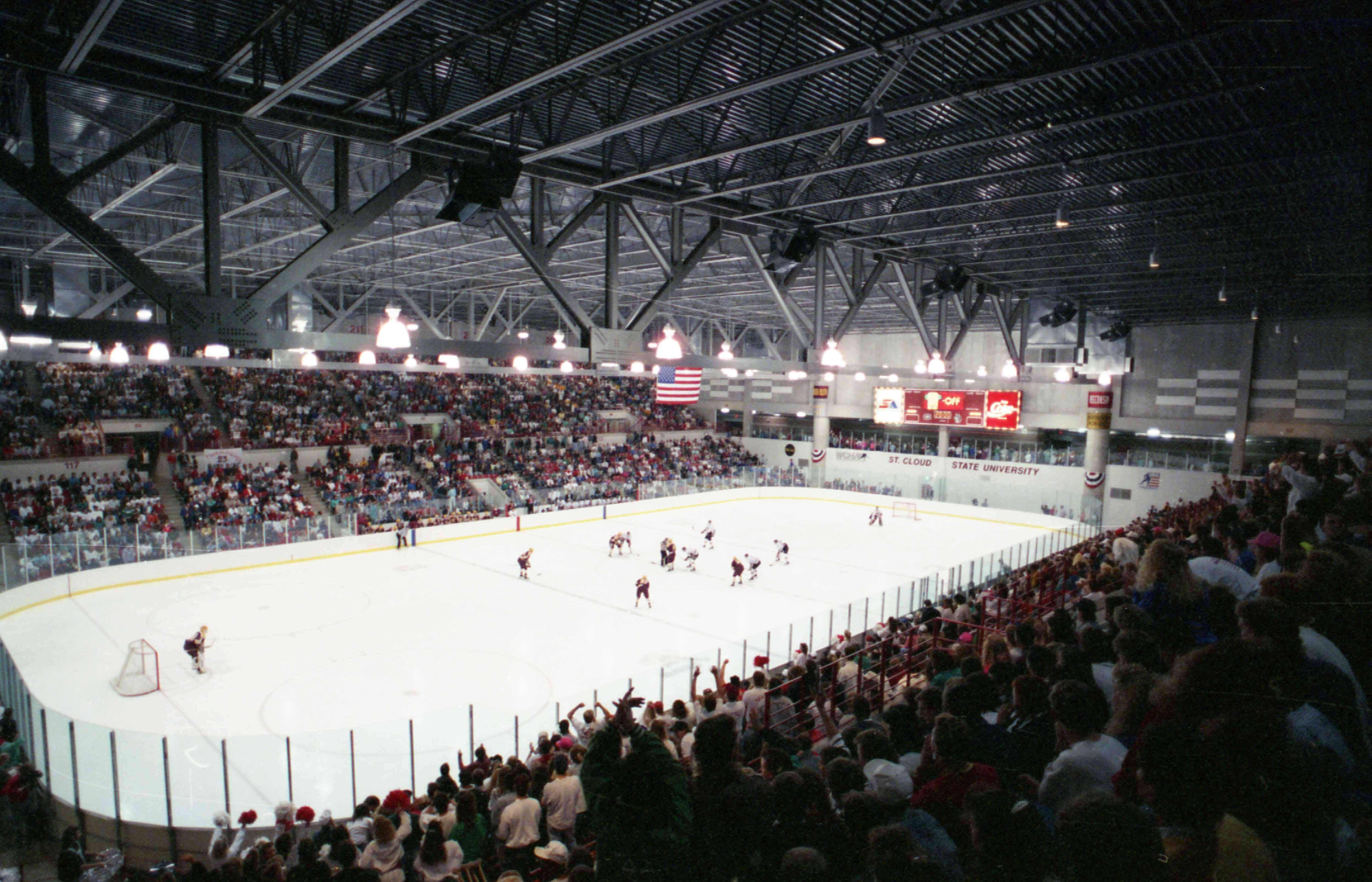 Hockey game at the NHC, 1991