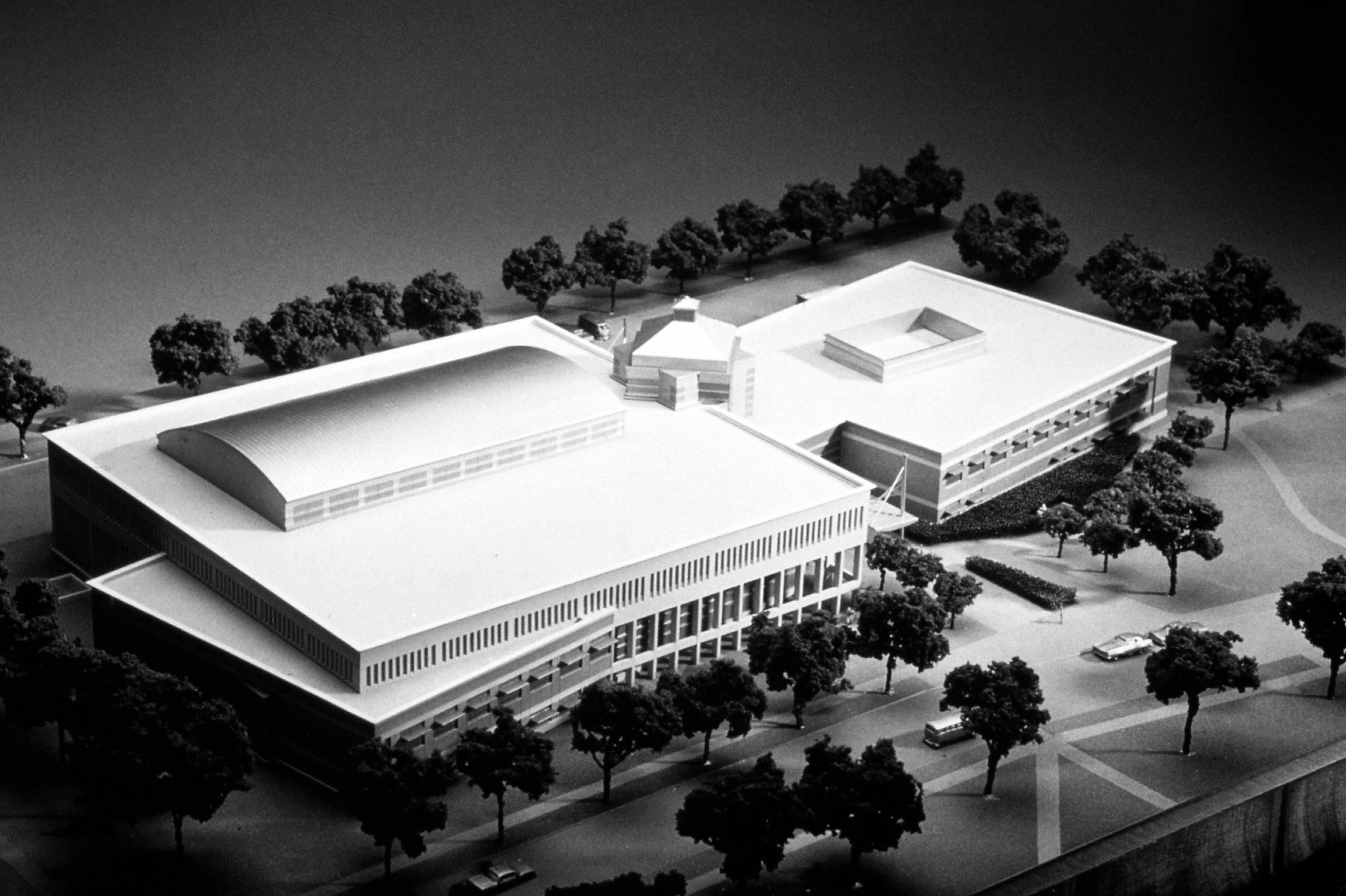 Miller Center 3-D model
