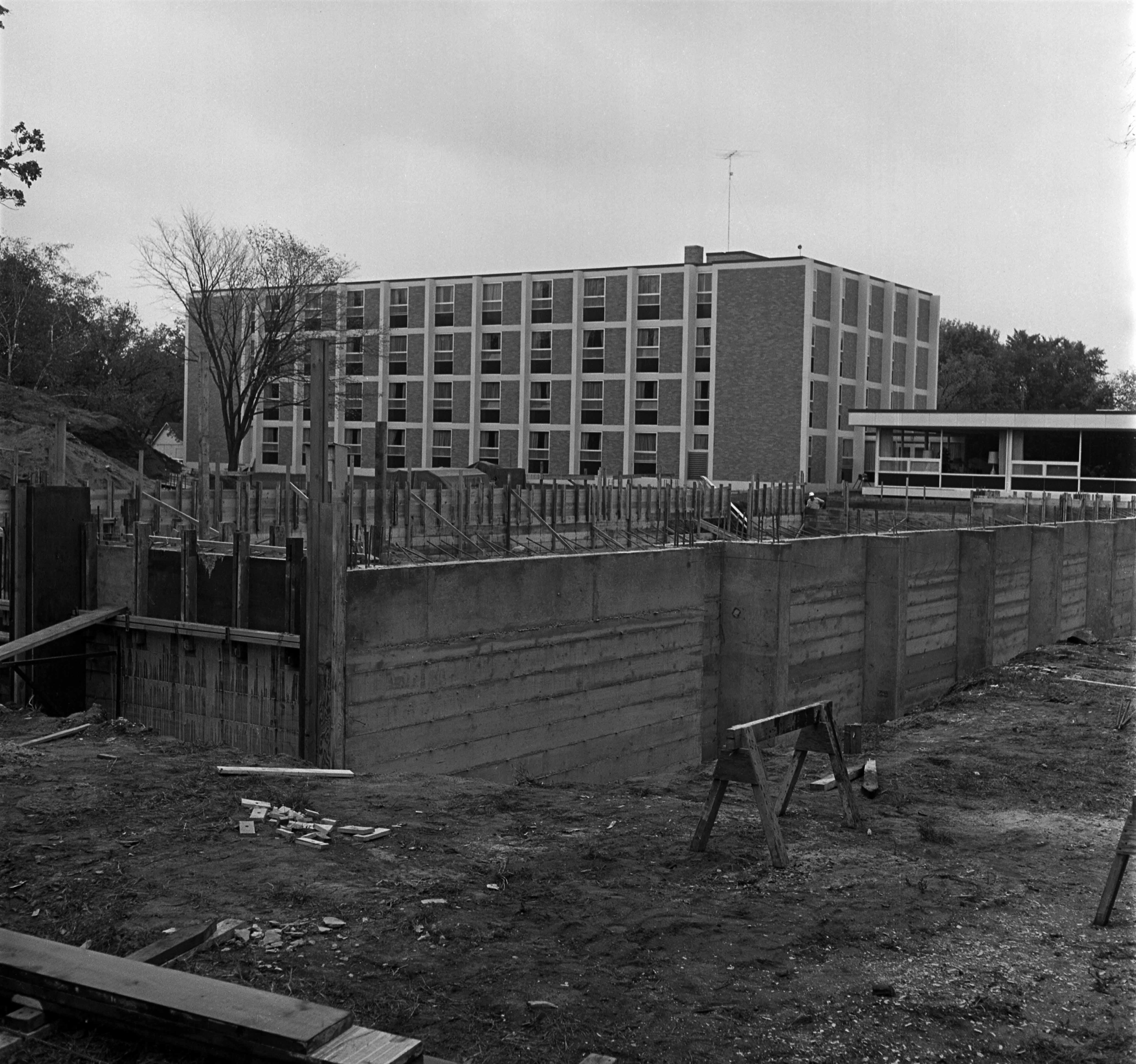 Case Hall construction (1963)