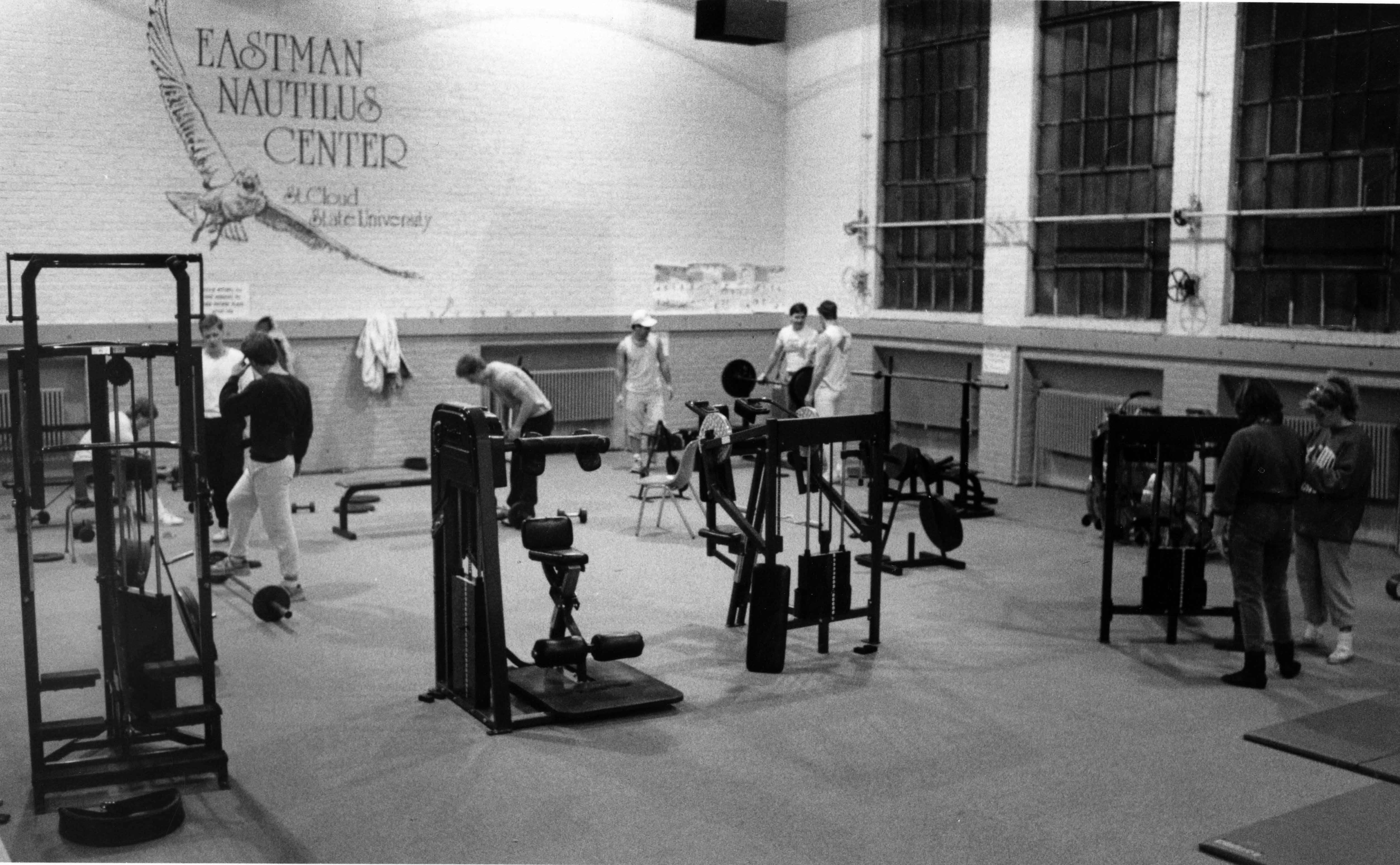 Eastman Hall Nautilus Center, January 1988